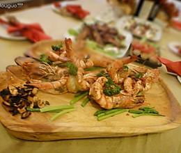 超有爱蒜香辣虾的做法