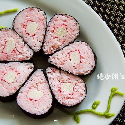解夏。粉色系【花朵寿司】