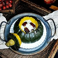红枣糯米南瓜盅的做法图解8