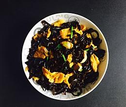 营养美味家常菜之木耳丝炒鸡蛋的做法