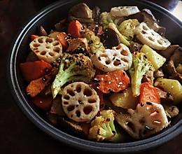 蔬菜烤盘烩的做法