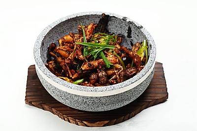 菜男石锅田鸡