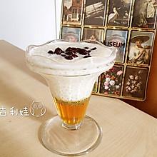 蜜豆果冻西米露