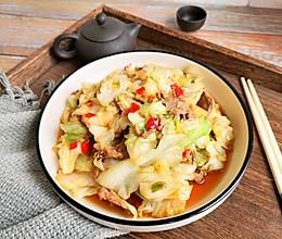 超下饭火爆剁椒圆白菜的做法