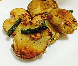 蒜香黄油土豆#德国Miji爱心菜#的做法