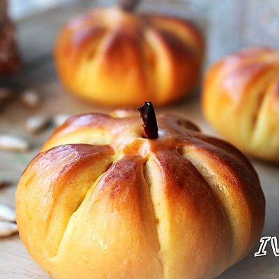 【南瓜团团小面包】--万圣节甜点第二波