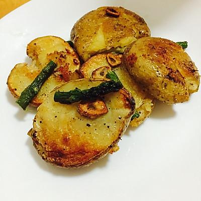 蒜香黄油土豆