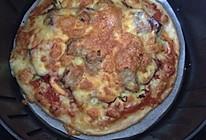 披萨 空气炸锅版的做法