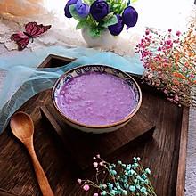 #快手又营养,我家的冬日必备菜品#紫薯粥