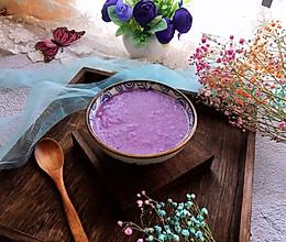 #快手又营养,我家的冬日必备菜品#紫薯粥的做法
