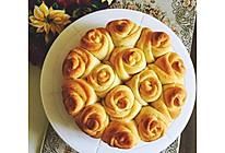 玫瑰花面包~的做法