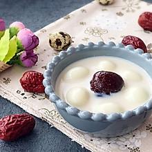 补血养颜 糖水 鹌鹑蛋红枣奶