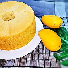 #多力金牌大厨带回家#芒果戚风蛋糕