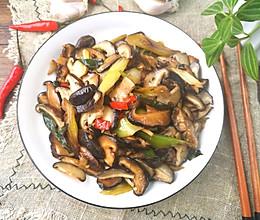 爆炒香菇的做法