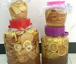柠檬苹果醋的做法
