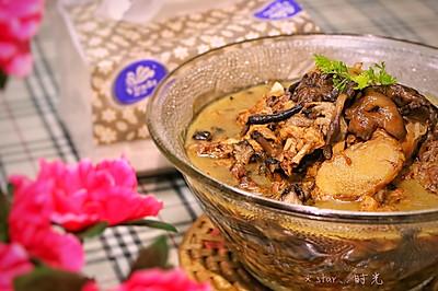 小鸡炖蘑菇#维达与你韧享年夜范#