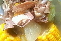 冬瓜玉米土鸡汤的做法