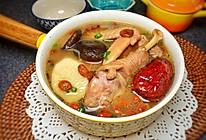 红枣山药煨鸡汤的做法