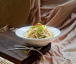凉拌绿豆芽的做法