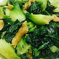 油渣炒青菜