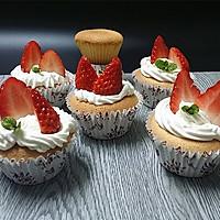 奶油草莓小蛋糕#豆果5周年#的做法图解18