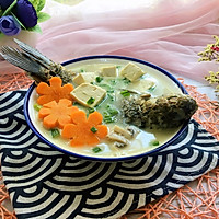 #父亲节,给老爸做道菜#鲫鱼豆腐汤的做法图解12