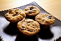 榛仁巧克力饼干的做法