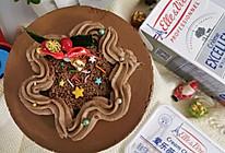 """#甜蜜暖冬,""""焙""""感幸福#醇厚浓情巧克力慕斯蛋糕的做法"""