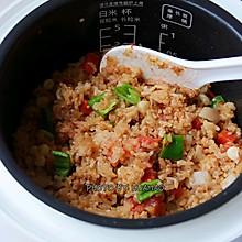 番茄肉沫燜飯#太太樂鮮雞汁玩轉健康快手菜#
