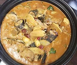 鮰鱼的做法——红汤炖肥鱼的做法
