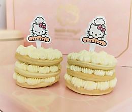 HelloKitty松饼奶油小蛋糕的做法