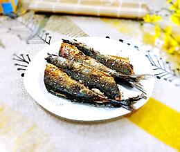 生煎秋刀鱼的做法