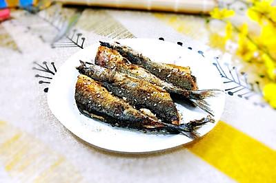 生煎秋刀鱼