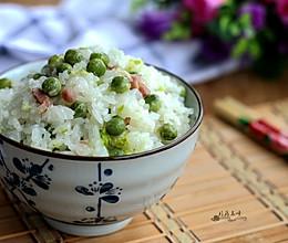豌豆咸肉焖饭#美的初心电饭煲#的做法