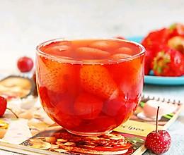 草莓山楂罐头✧消食消脂的做法