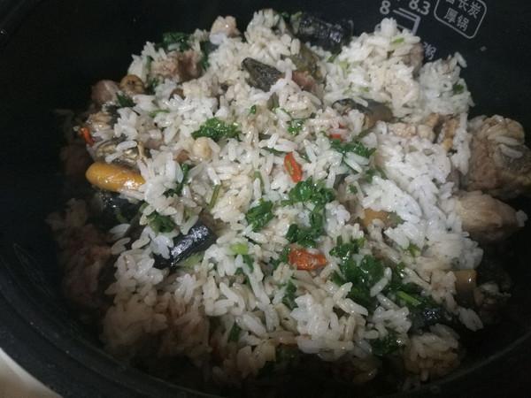黄鳝排骨饭的做法