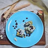 蔓越莓抹茶雪花酥的做法图解9
