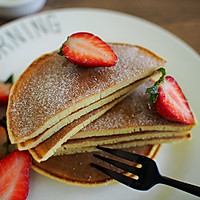 美式早餐---原味松饼的做法图解8
