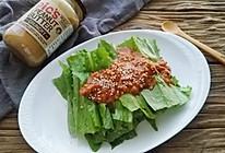 麻酱油麦菜的做法