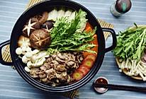 日式肥牛火锅——寿喜烧的做法