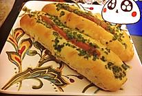 超香的葱油火腿面包的做法