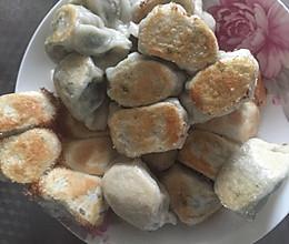 猪肉荠菜锅贴的做法