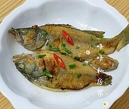 简易制作:干煎咸海鱼的做法