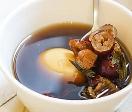 宫寒的食疗秘籍——艾叶红枣鸡蛋茶的做法
