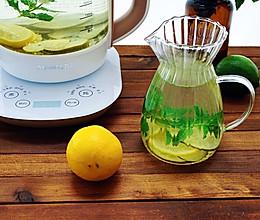 柠檬薄荷饮的做法