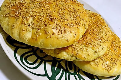 核桃芝麻酥饼
