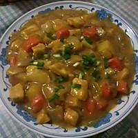 五彩咖喱酱