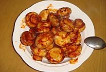 茄汁炒口蘑的做法