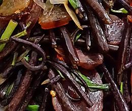 蕨菜炒腊肉/香肠的做法