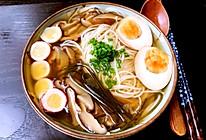 日式味噌汤面的做法